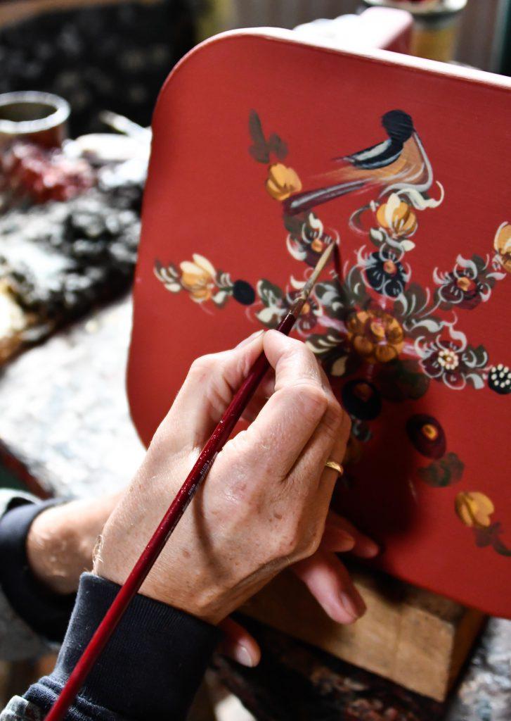 Ambacht Hindelooper schilderwerk 10